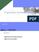OOP Métodos de Ordenamiento