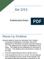 Math Studies Slides 2-15