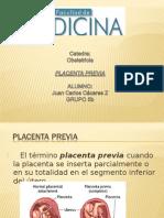 Obstetricia Placenta Previa