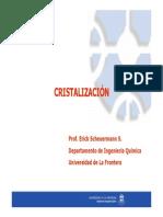 Cristalización