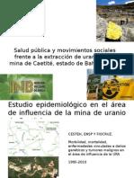 Salud Pública y Movimientos Sociales Frente a La