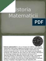Istoria Matematicii
