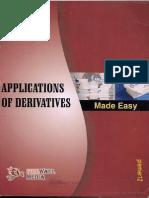 Applications of Derivatives