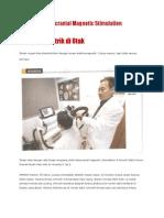 Tentang TMS (Transcranial Magnetic Stimulation)