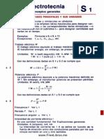Formulas Electrotecnia.