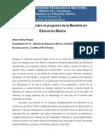 Hrangel_Opiniones Sobre La MEB