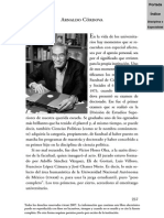 Arnaldo Córdova Semblanza J.F Santillan