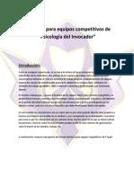 Asesoría Psicológica Para Equipos Competitivos (E-Sport)