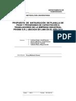 Modelo de Informe Final de metodología universitaria