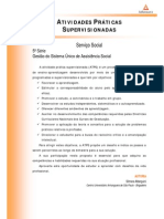 ATPS Gestao Sistema Unico Assistencia Social