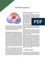 Polaridad (química)