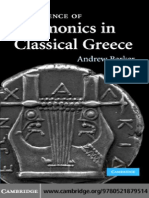 Barker 2007 - The Science of Harmonics in Classical Greece