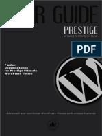 Prestige WP UserGuide