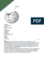 Despre Wikipedia