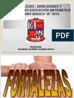 FODA Matemática 6ºB 2014