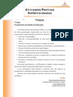 ATPS Fundamentos Gestao Educacao