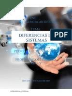 Diferencias de Sistemas