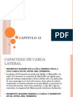 Capitulo 12. Capacidad de carga lateral