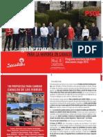 programa Electoral PSOE Cadalso 2015