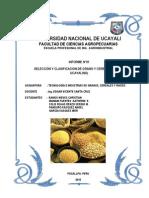 Informe 01 de Granos y Cereales