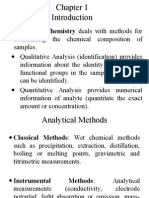 analytically chemistry