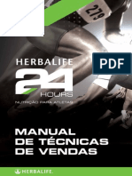 Manual de Tecnicas de Vendas Herbalife24 Hours