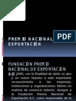 Premio Nacional de Exportación