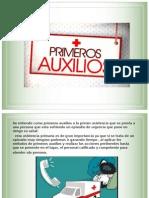 PRIMEROS AUXILIOS  power point