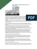 El Plan de Energía Limpia de La EPA Para Reducir La Contaminación de Carbono