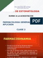 Farmacodimamia Clase 2