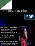ADORACIÓN BÍBLICA