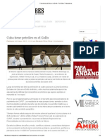 Cuba Tiene Petróleo en El Golfo - Periódico Trabajadores