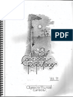 Libro de Canciones Populares Venezolanas 1 - SOJO