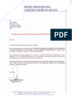 Brazil Federation Letter (in English)