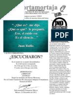 1.-El Cortamortaja No. 90. El Ruido Del Sile Ncio Del EZLN y El Grito Contra Mareña Renovables.