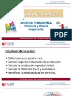 Productividad, eficiencia y eficacia empresarial
