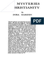 The Mysteries of Christianity, by Dora Marsden
