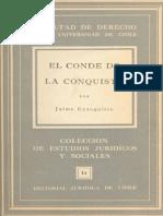 El Conde de La Conquista -  Jaime Eyzaguirre