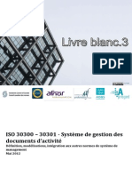 Norma ISO 30300 Sistemas de Gestión de Documentos