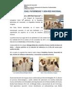 Informe Convenio Uruguay - Venezuela