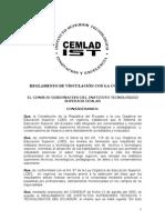 Reglamento de Vinculación Con La Comunidad Final 15.10.2012
