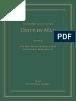 UoM – Die Einheit des Menschen – Unity of Man – Band II – Die Erklärung des Para Vidya und Dessen Veräußerung