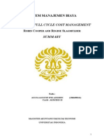 Paper - Achieving Full Cycle Cost Managemnt