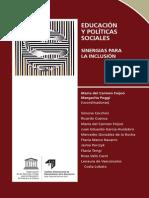 Educación y Políticas Sociales