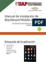 Instalación BBLearn Mobile Android