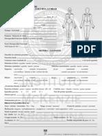 historia clinica con evaluación postural