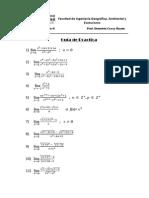 Ejercicios Propuestos de Limites Calculo II Ccesa007