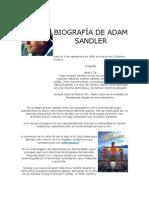 Biografía de Adam Sandler