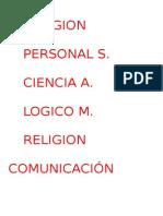 Religion.doc Cuadernos
