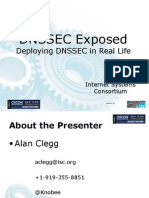 DNSSEC Exposed - Deploying DNSSEC in Real Life Presentation